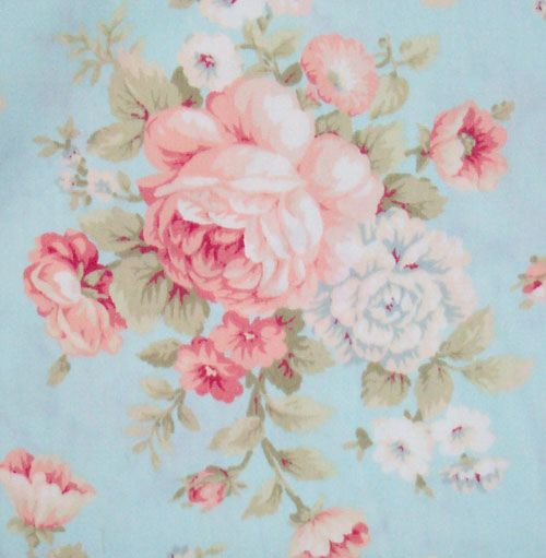 Chinese Rose Chic Shabby Cotton Quilt Shabby chic quilts