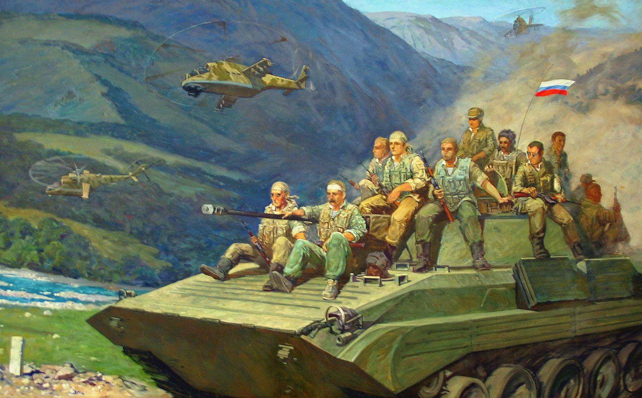 Афганистан в картинах художников