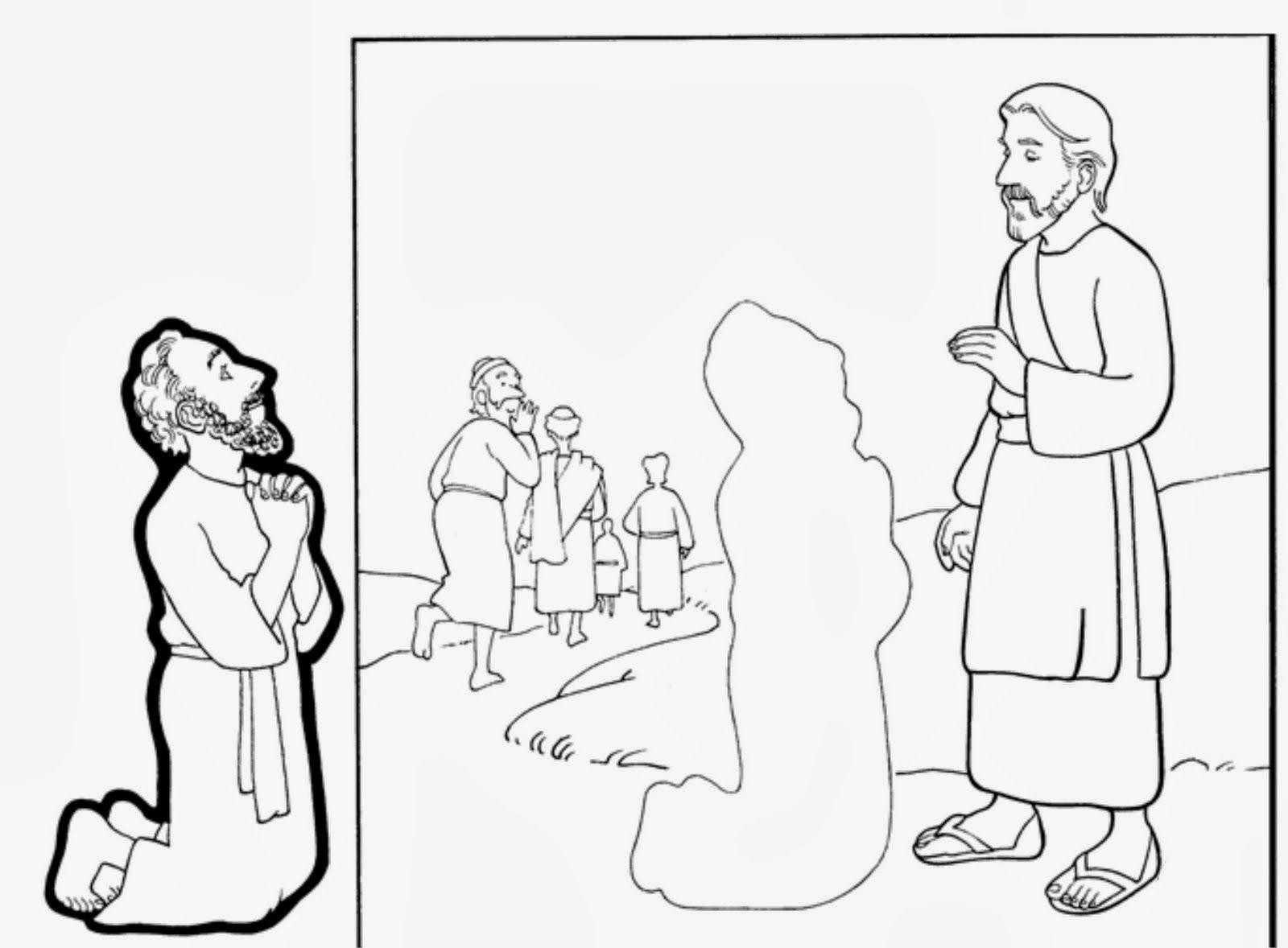 Lucas 17: 11-19 Iba Jesús camino de Jerusalén cuando entró en una ...