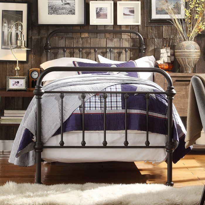 Home Creek Antique Style Katherine Metal Frame Bed Home Creek