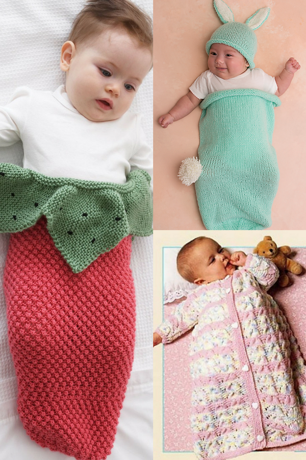 10 Free Knitting Patterns for Baby Cocoons | Baby blankets ...