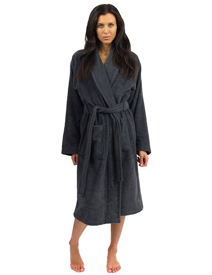 TowelSelections Turkish Cotton Bathrobe Terry Shawl Robe Made in Turkey at  Amazon Women s Clothing store  Terry Cloth Robes 4f3d6a222