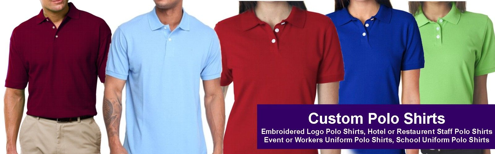 Best Custom Embroidered Polo Shirts
