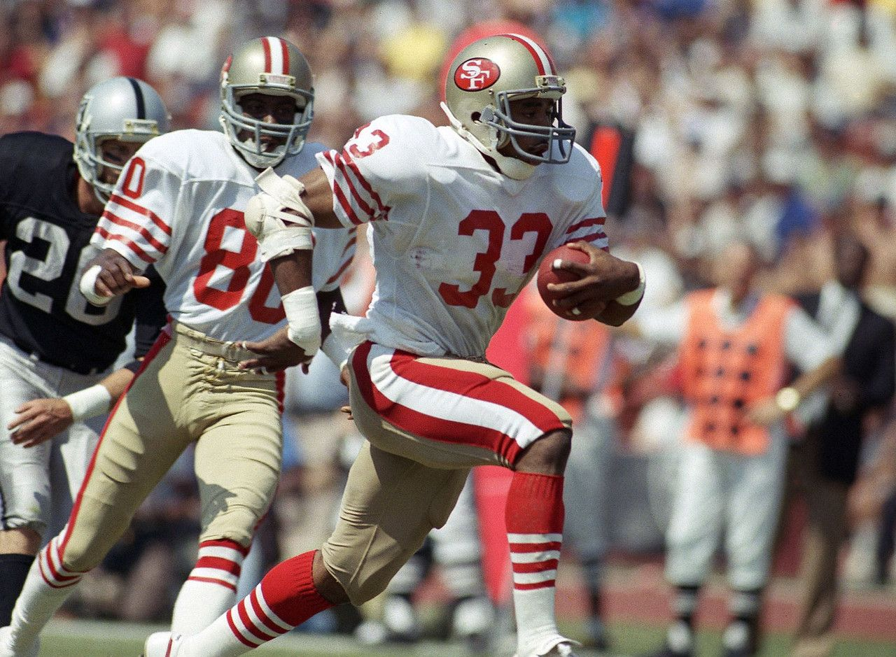 Hall of Fame cases for Nfl football 49ers, 49ers
