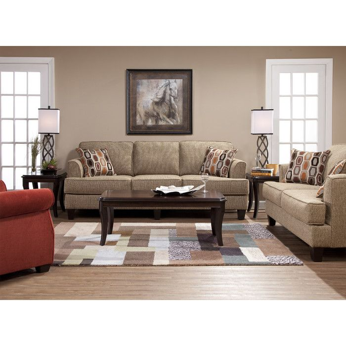Serta Upholstery Living Room Collection & Reviews | Wayfair ...