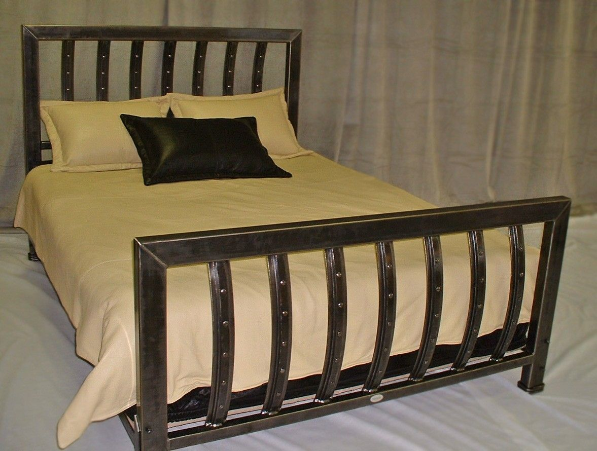Custom Made Iron Queen Size Bed