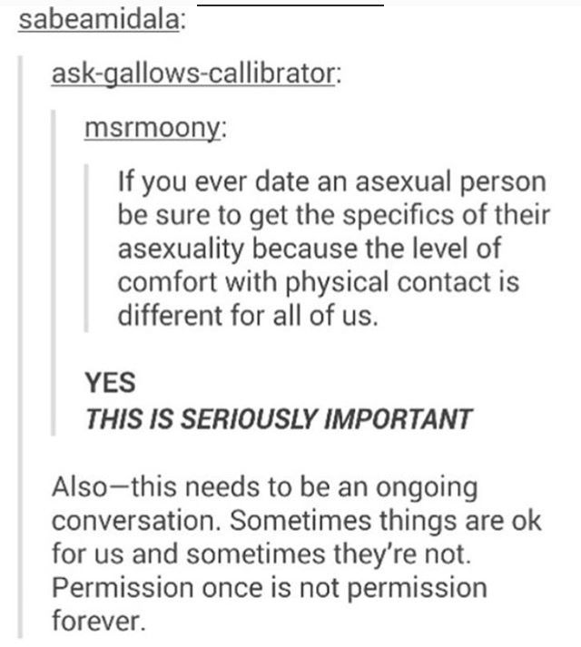 dating an asexual person