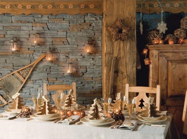 Tables de fêtes, de belles idées pour recevoir   Chalets, Tables ...