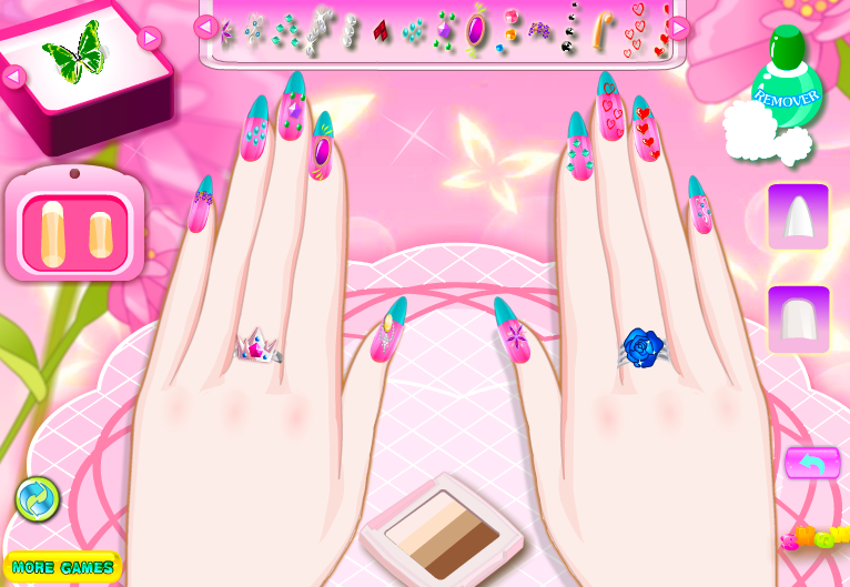 All About Nail World Manicure games, Nail design games