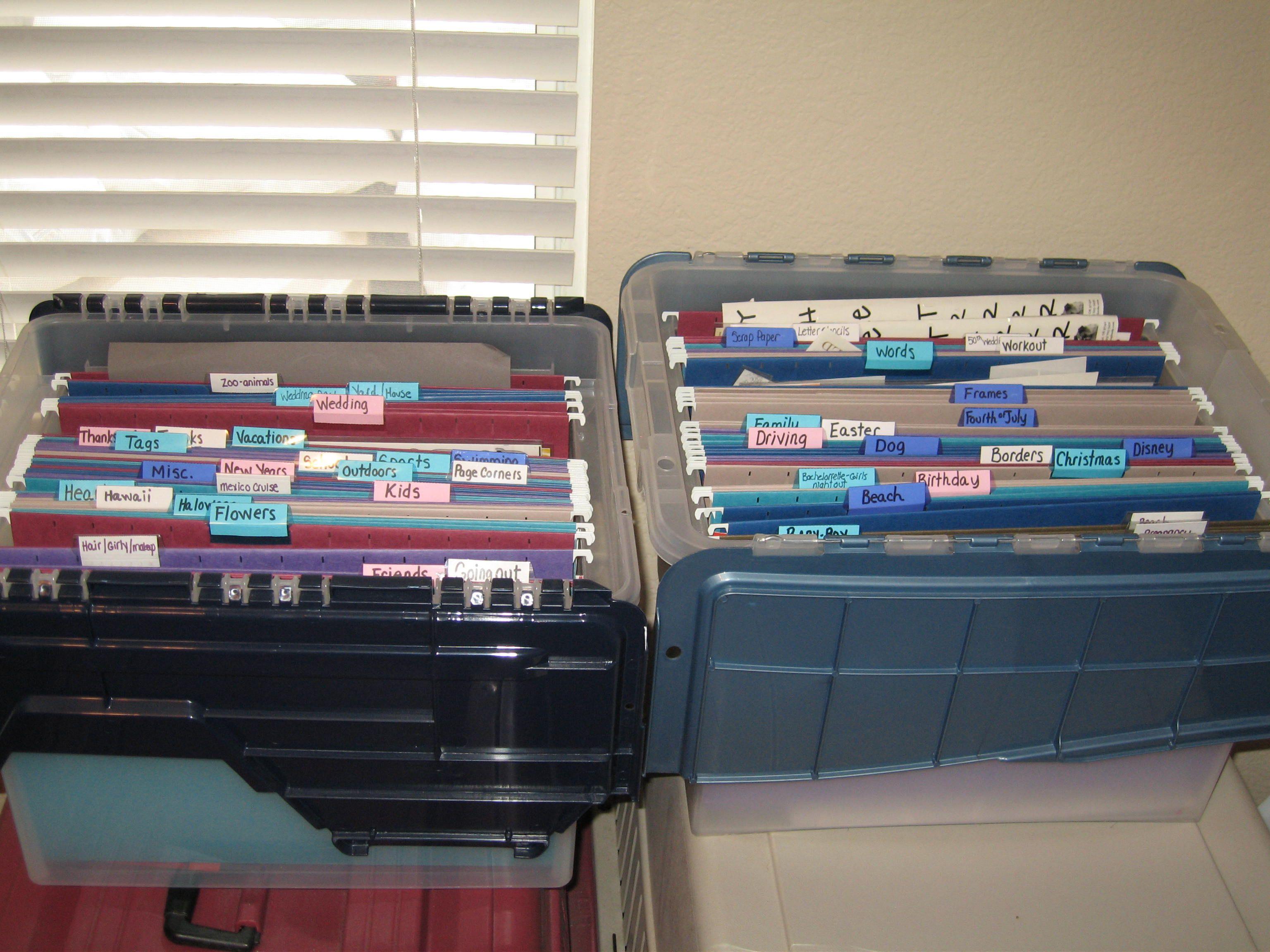 Sticker organizer - Scrapbook.com