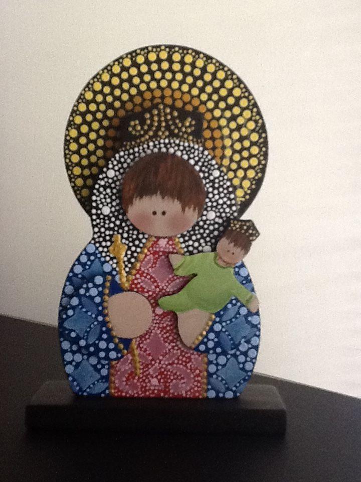 Virgen María Auxiliadora, Elaborada Por AV