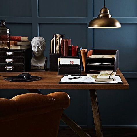 John Lewis Brown Desk Accessories Online At Johnlewis