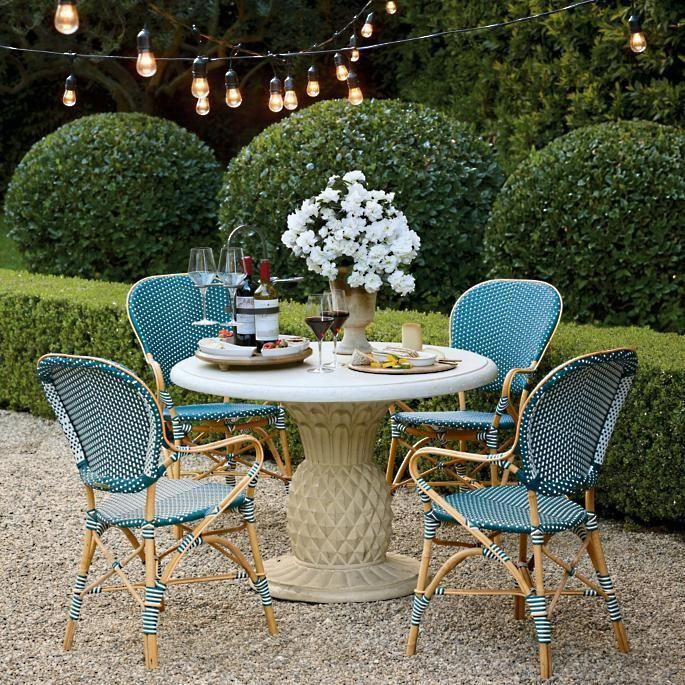 18 Favorite Outdoor Rooms: Patio Furniture Sets, Used
