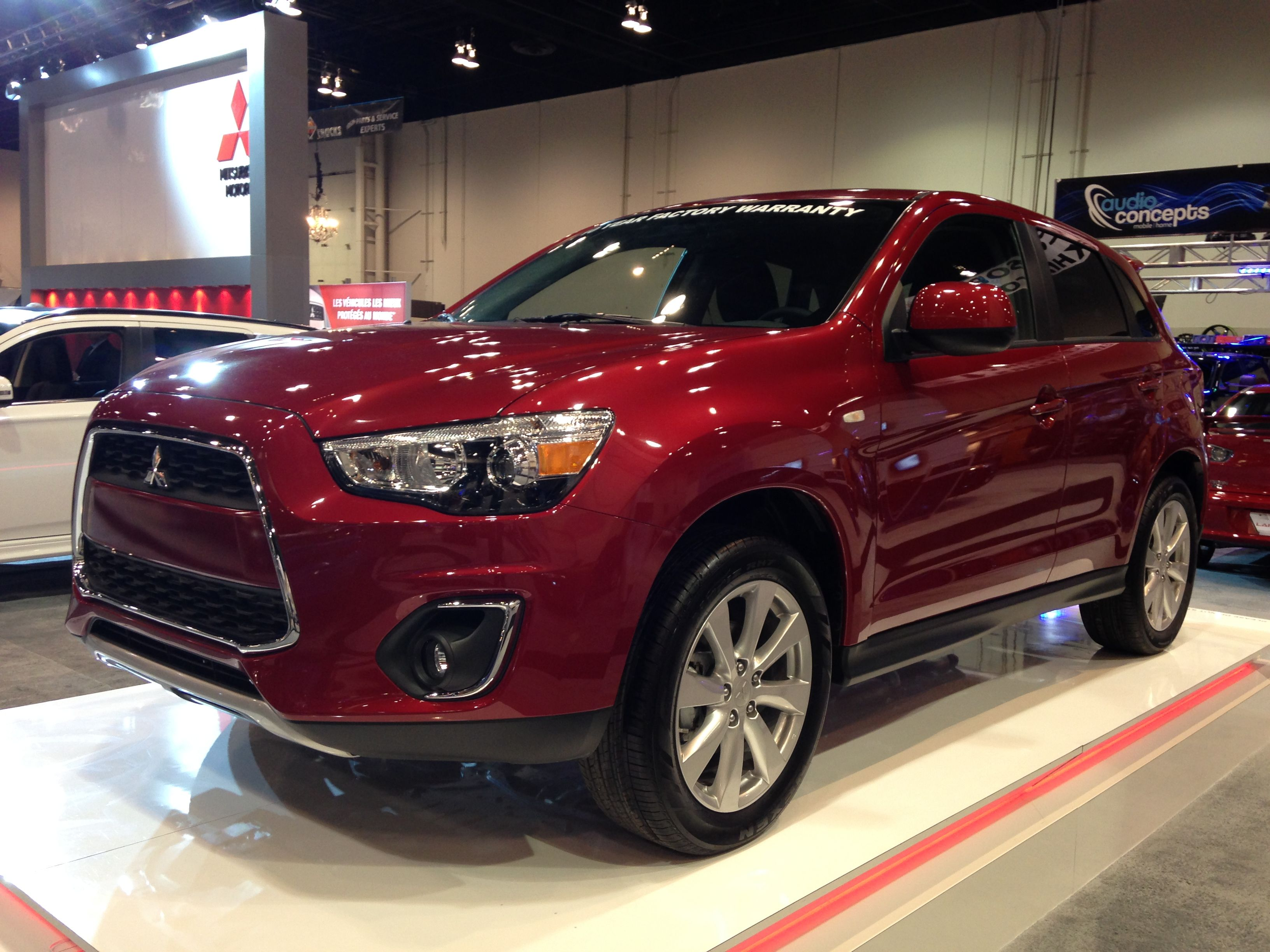 2014 mitsubishi rvr se limited edition first look at the calgary auto show www