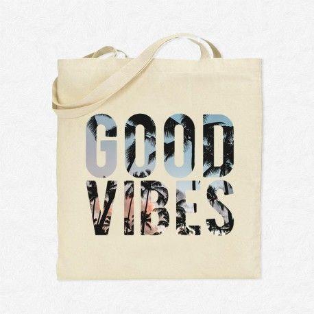 Tote Bag Vacances Good Vibes