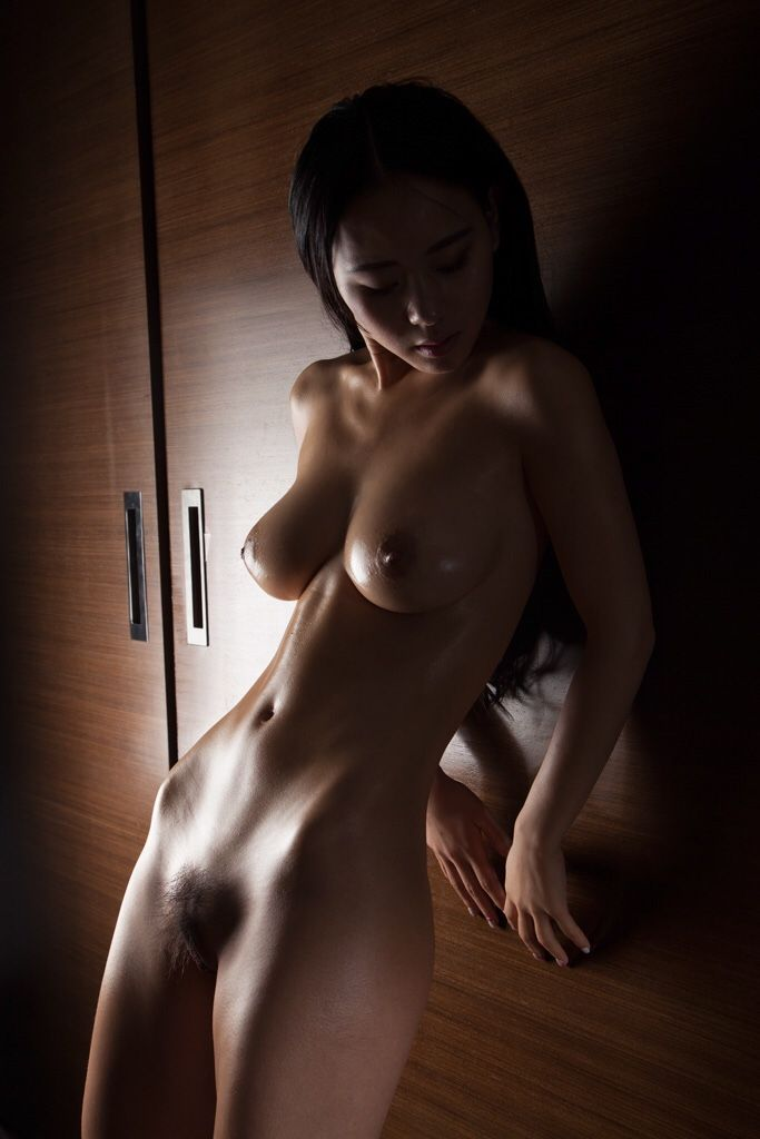 Nude fit korean women
