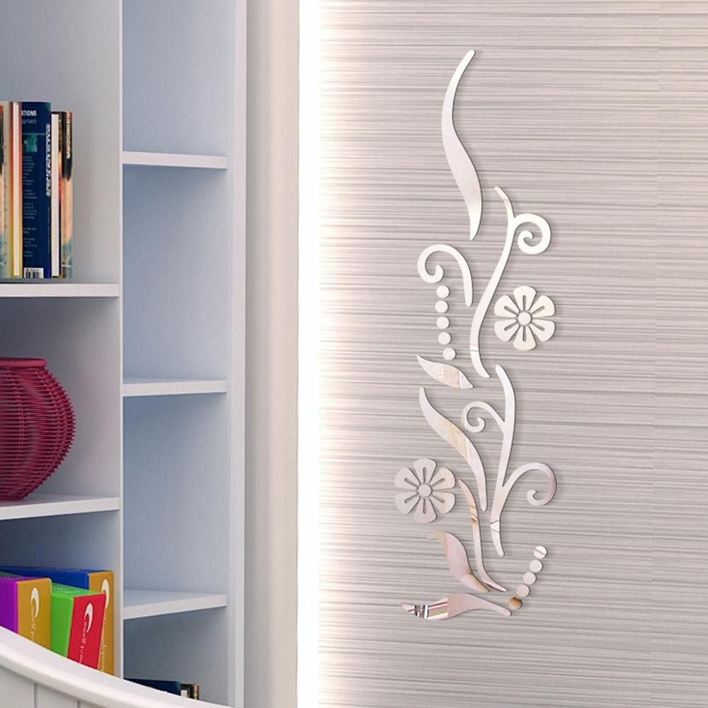 Flower, acrylic wall sticker