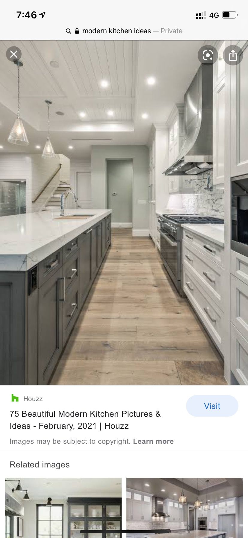 Pin By Jaimie On Laminate Flooring In 2021 Floor Colors Kitchen Kitchen Cabinets