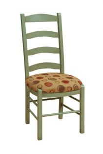 Colonie Ladder Back Kitchen Chairs Countryside Amish Furniture