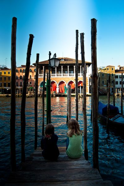 View From The Front Of Hotel Foscari Palace To Rialto Fish Market