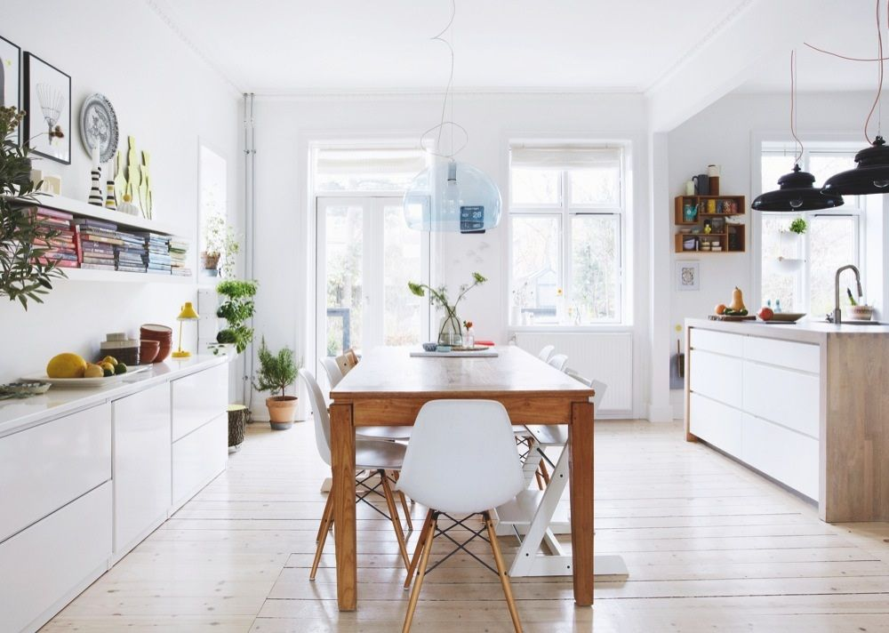 Danish House Full Of Ideas Kitchen Maison Salle A Manger Deco