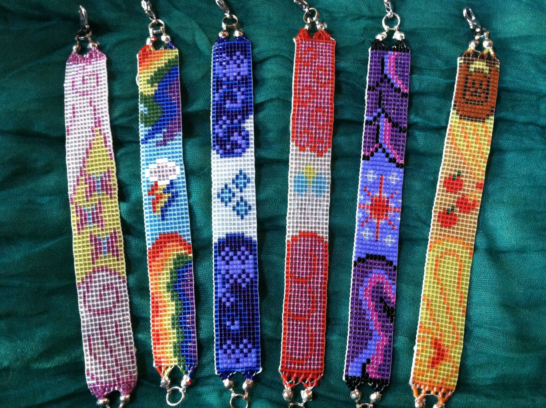 Complete My Little Pony Friends Loomed Beads Bracelet Set