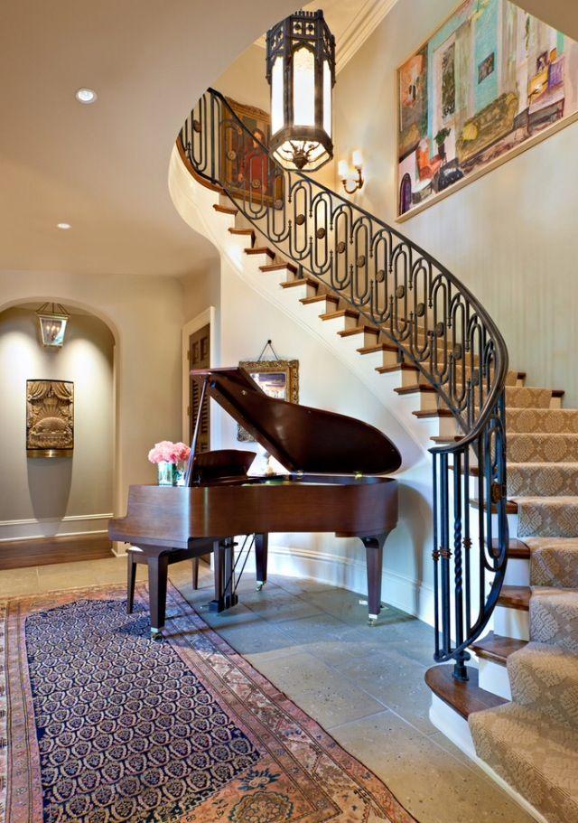 #Luxury Foyer   Stairway design, Stairs design, Staircase ...