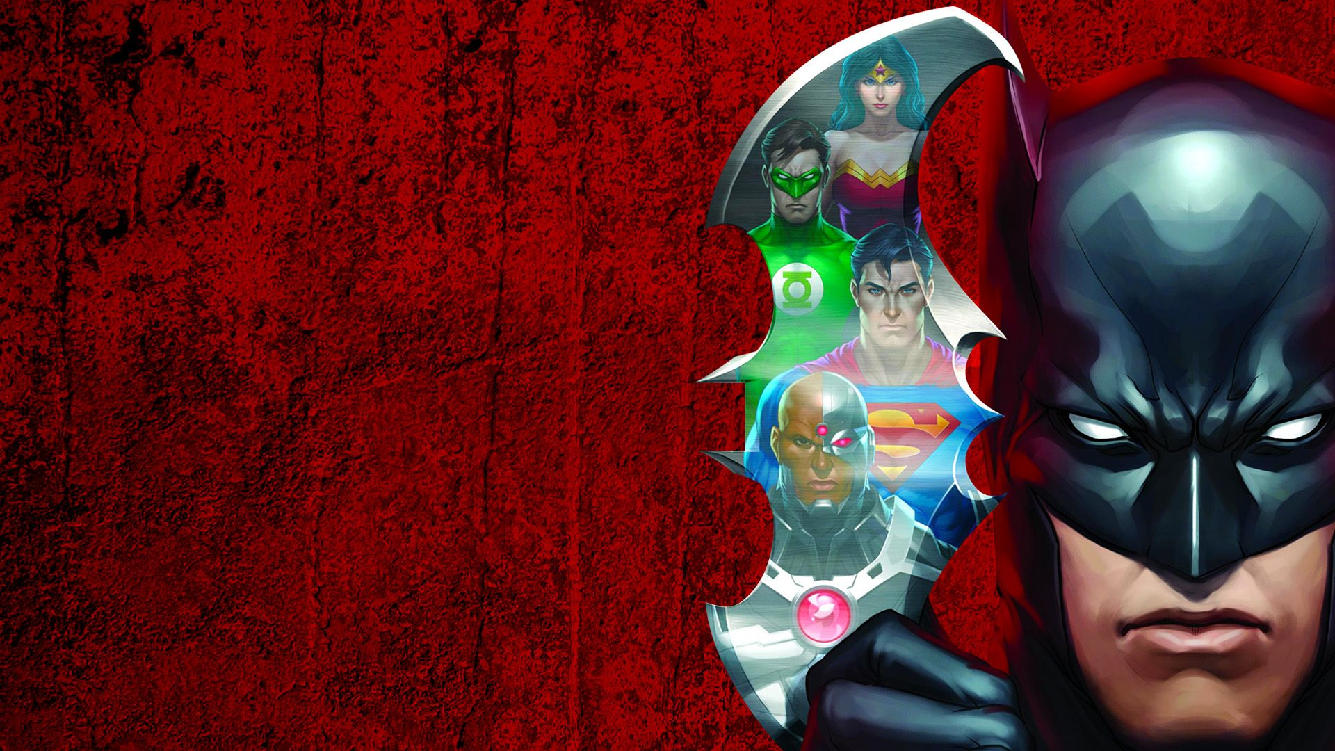 Download 1920x1080 Wallpaper Justice League Doom, 2012