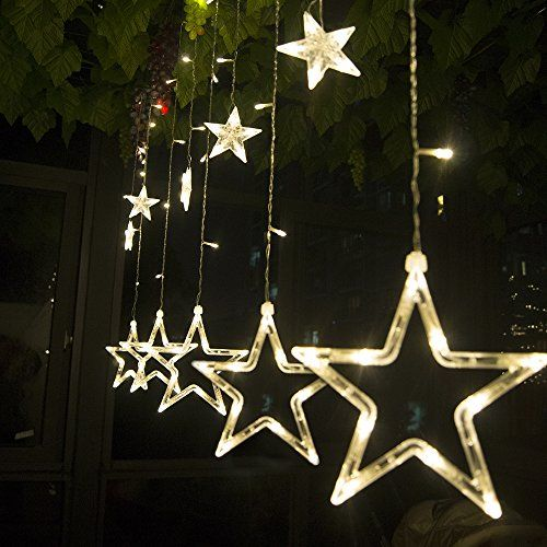 Decorazioni Natale luci  miglior prezzo Curtain lights and