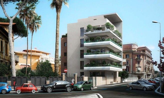 Studio z14 alessandro ridolfi architetto edificio for Architetto interni roma