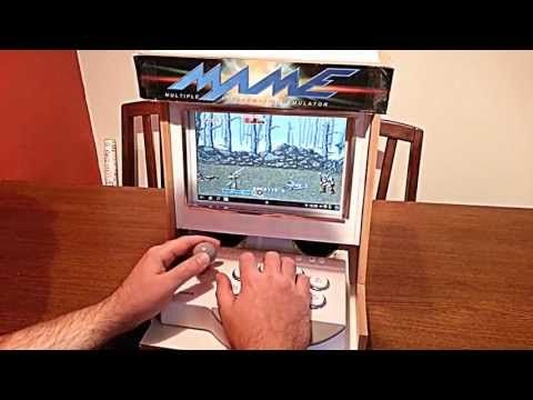 Android arcade cabinet running MAME - home made - YouTube ...