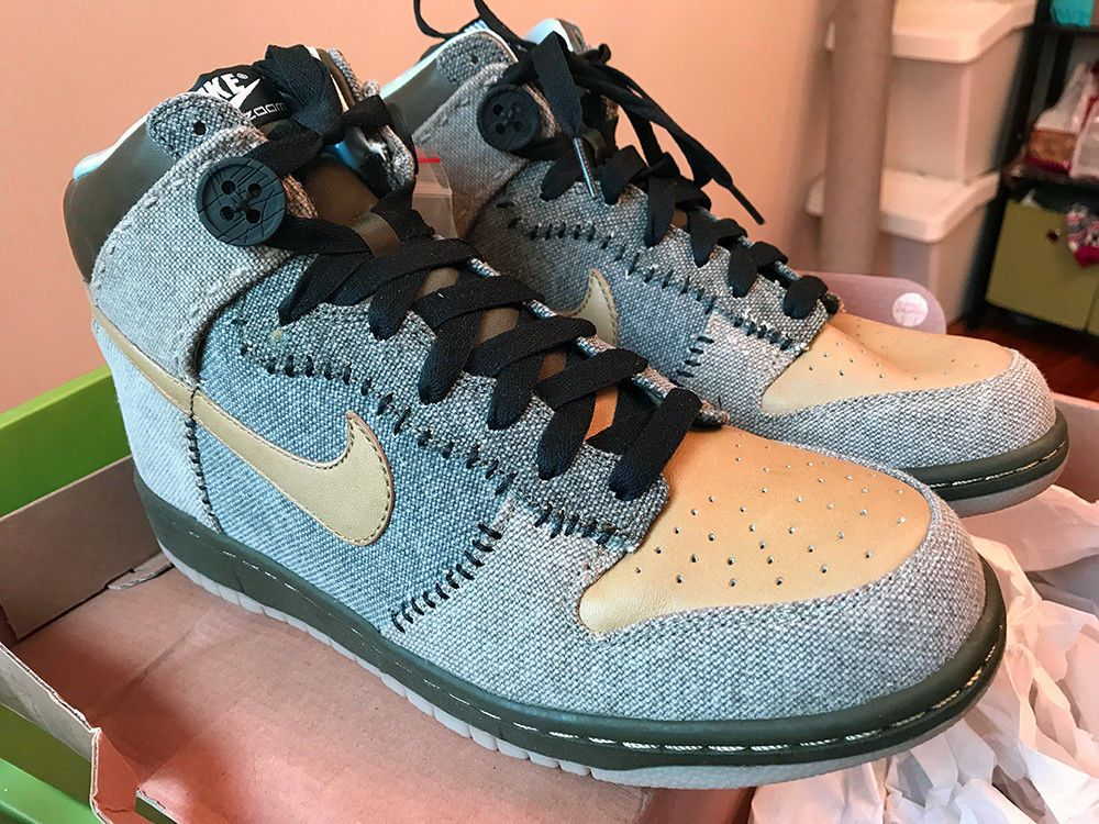 promo code c2519 dab20 NEW Coraline Nike Dunks Men Size 10 - never worn  fashion  clothing  shoes   accessories  mensshoes  athleticshoes
