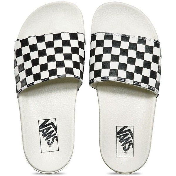 Vans Womens Slide-On ( 30) ❤ liked on Polyvore featuring shoes ... ac4229222