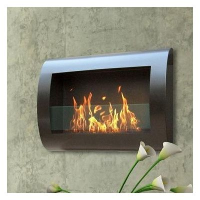 Anywhere Fireplaces 90202 Chelsea Wall Mount Bio Ethanol Fireplace Finish Satin Black Reviews Wall Mounted Fireplace Bioethanol Fireplace Ethanol Fireplace