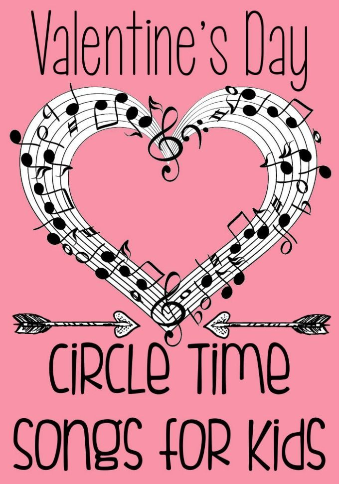 Free Valentine\'s Day Songs and Rhymes for Circle Time {and FREE ...