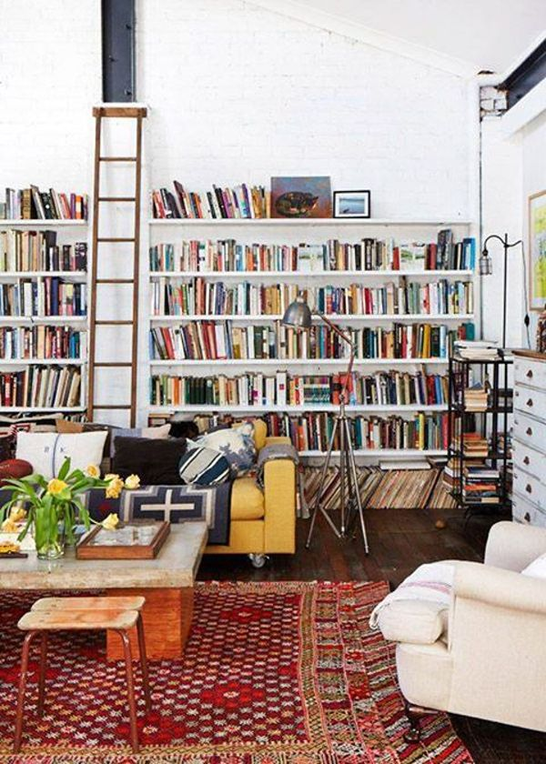 35 Coolest Home Library And Book Storage Ideas Home Design And Interior Home Libraries House Interior Home Living Room