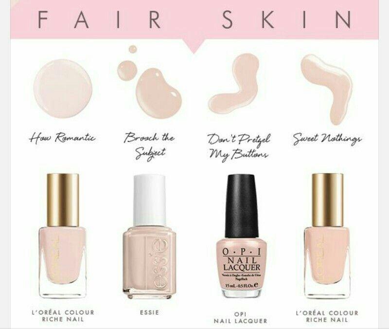 Nude Nail Polish For Fair Skin Care Keeping In 2019 Nail