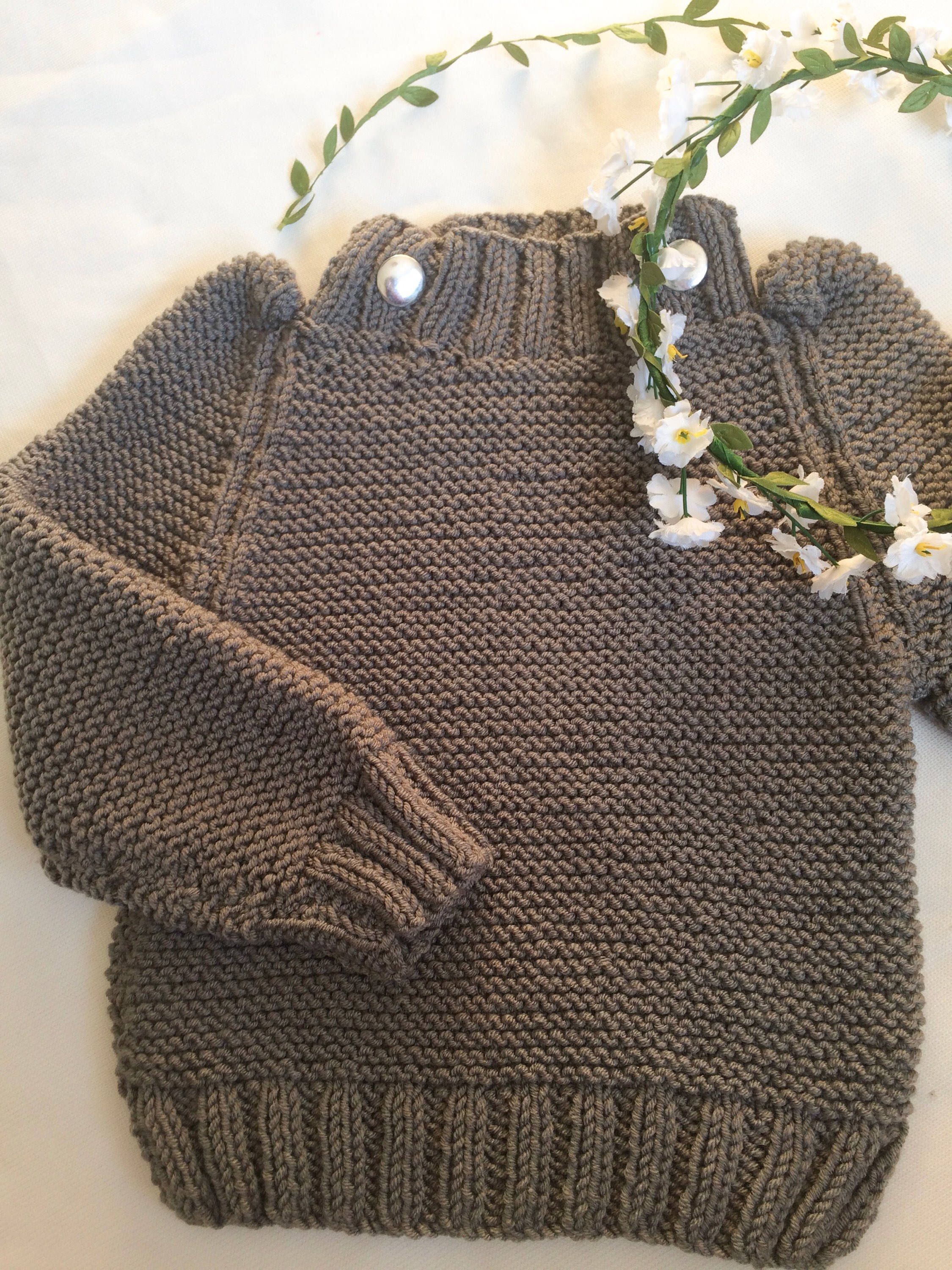 8f06310a8 Grey knitted jumper for 2 to 3 years old