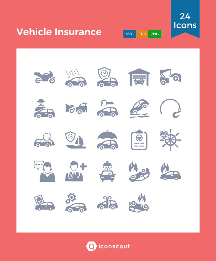 Download Vehicle Insurance Icon Pack Available In Svg Png Eps Ai Icon Fonts Car Insurance Insurance Icon Pack