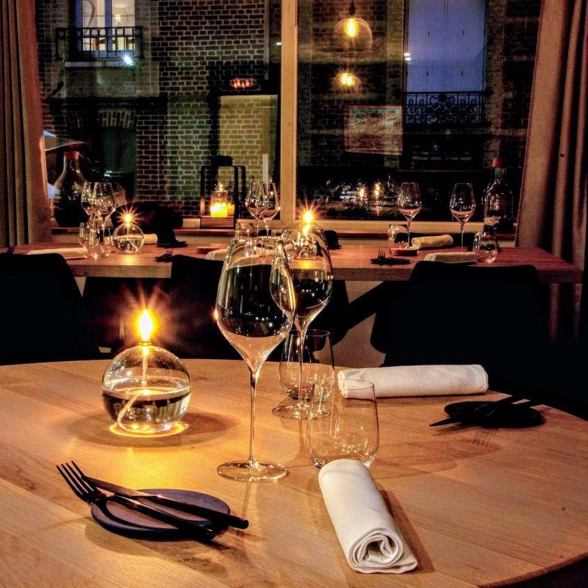 La Tablee La Table Gastronomique D Etienne Caletain Au Havre Table De Restaurant Cuisine Restaurant Design Bar Restaurant