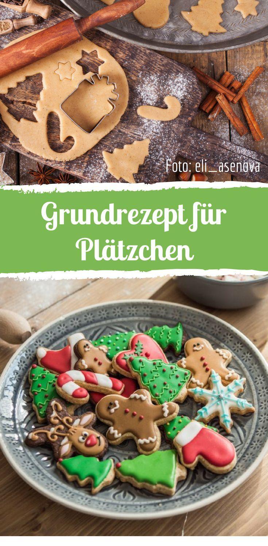 Einfaches Rezept für Weihnachtsplätzchen zum Ausstechen #christmascookies
