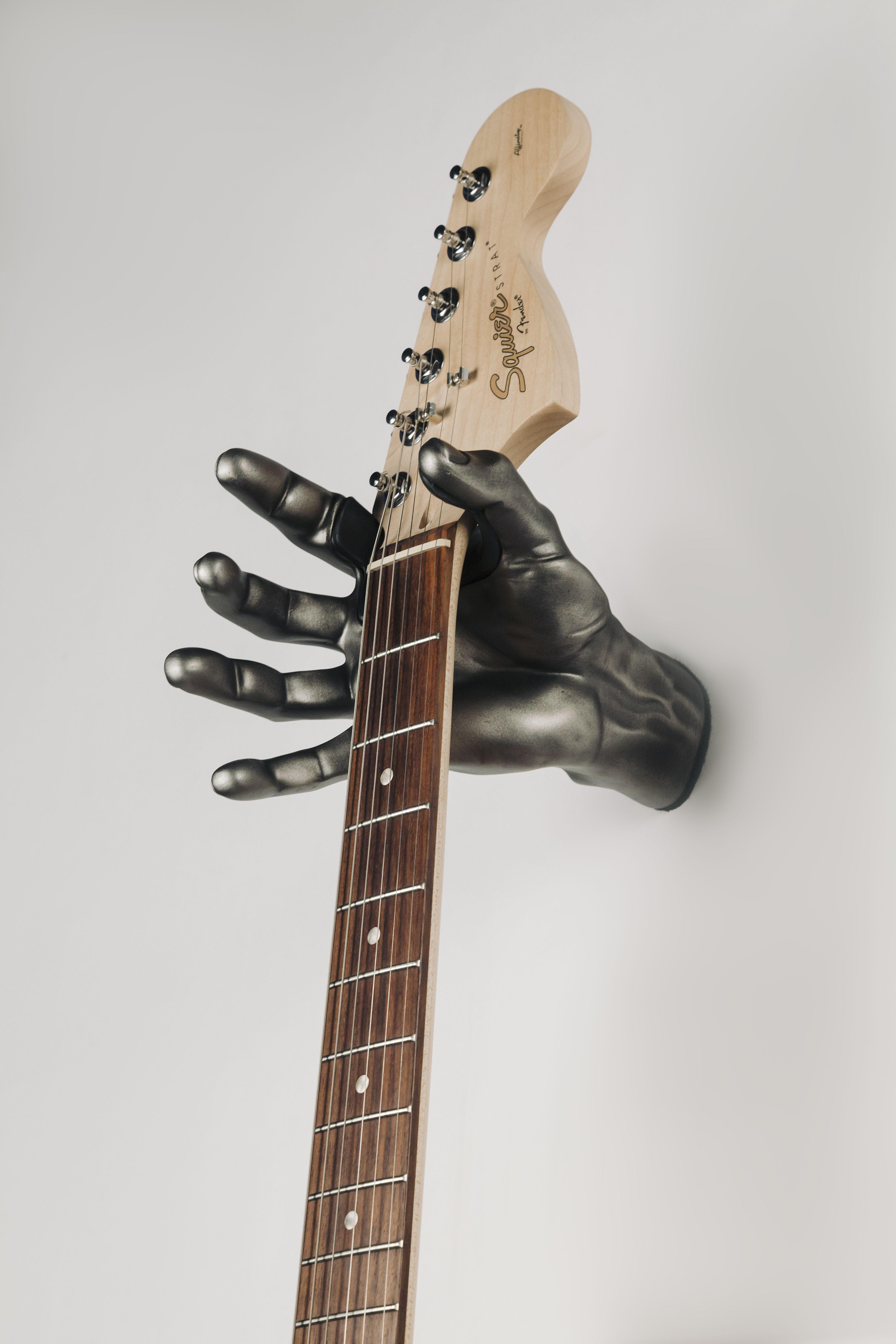 General Guitar Hanger Hook Holder Wall Mount Display Black