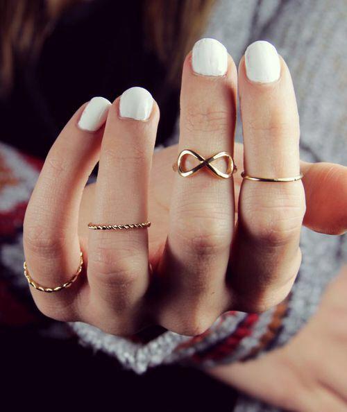 Infinito Mid Rings Fashion Rings Pink Morganite Ring