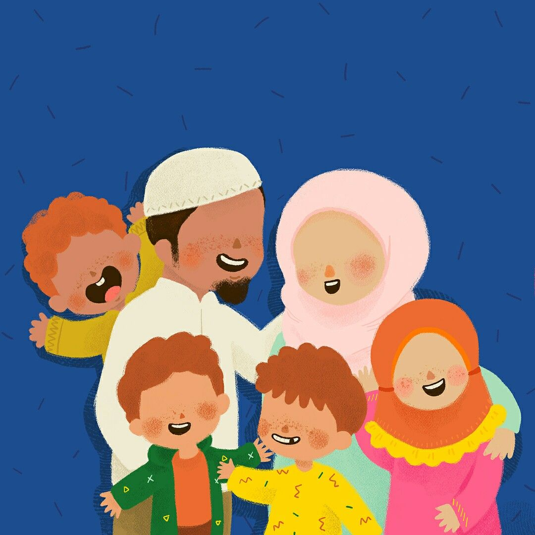 Pin oleh س di Muslim anime Kartun, Seni islamis, Animasi
