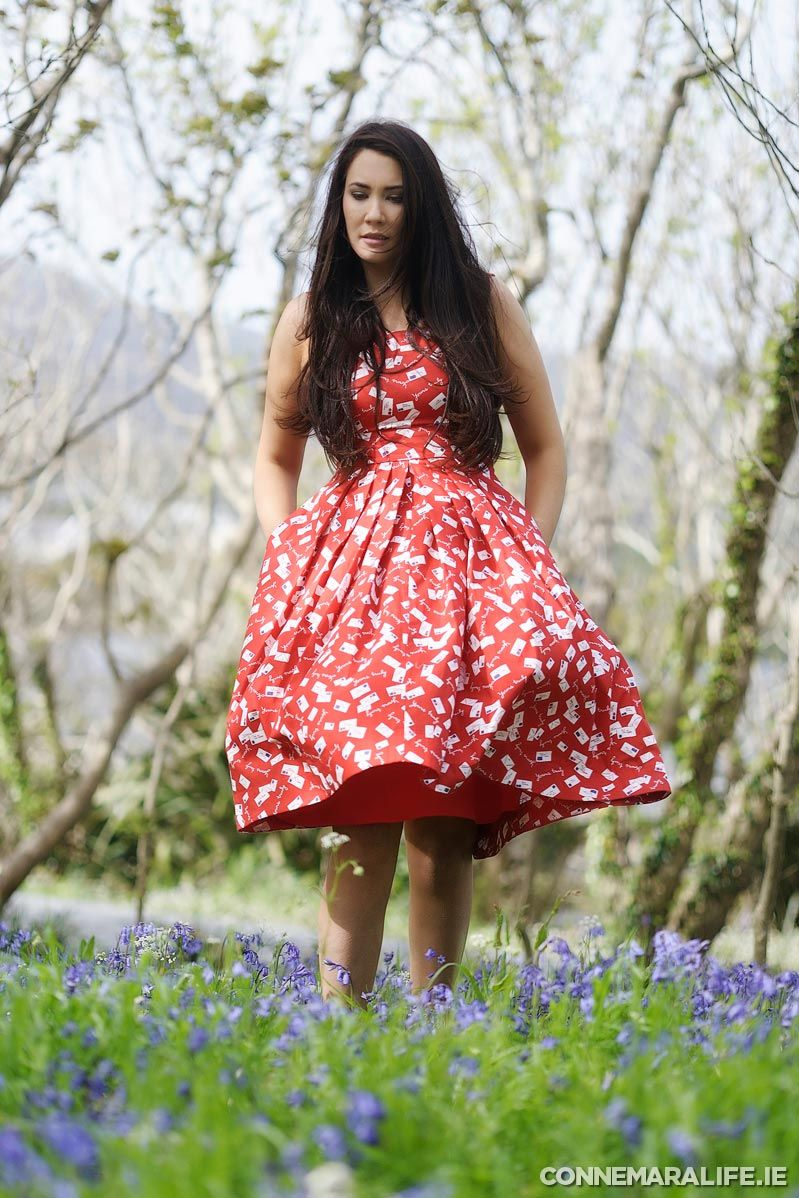 "Isobel dress from Ohh! by Gum €97.95 | Connemara Life 2015 | ""Seasons of Ireland on the Wild Atlantic Way"" 