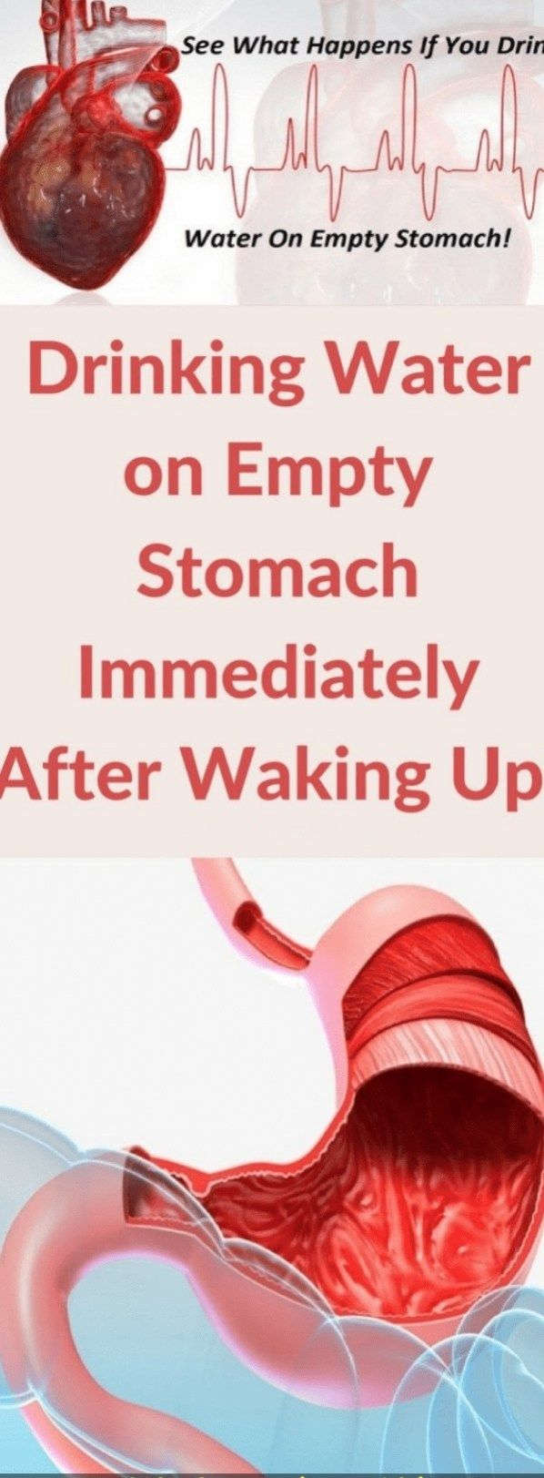 Drinking Water On Empty Stomach Immediately After Waking Up Healthy Beat Health Drinking Water Health Benefits