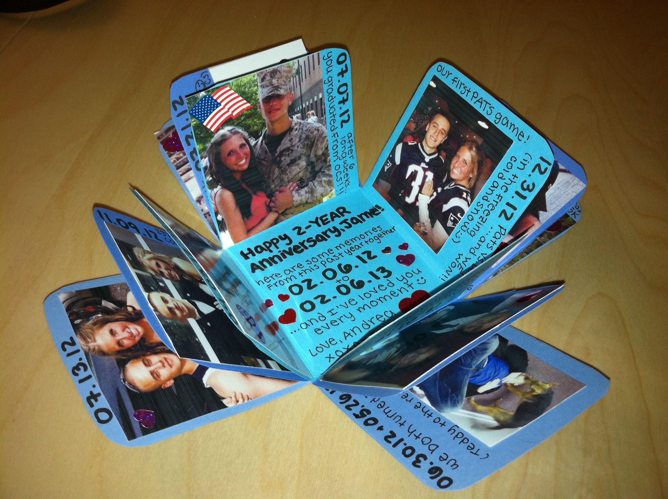 Exploding Photo Box Grad idea Diy gifts for boyfriend