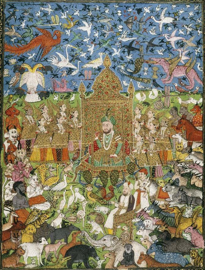 King Solomon And His Court India 1875 1900 Brooklyn Museum Islam Promotes King Solomon As A Model Ruler Wise And Just Folklore Solomon S Influence Miniatur