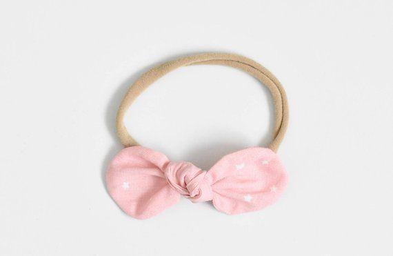 Pink Baby Headband, Bow Headband, Cute Baby Bow, Kids Hair Accessories, Toddler Headband, Newborn Headband #kidshairaccessories