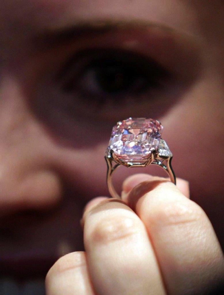 06705dbe0 Графф Пинк — самый дорогой в мире розовый бриллиант | Минералы ...